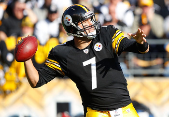 Pittsburgh Steelers' Quarterback Ben Roethlisberger