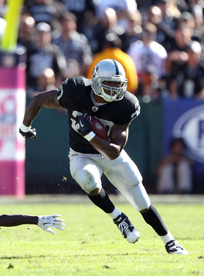 Oakland Raiders' Running Back Darren McFadden