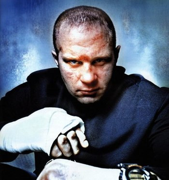 "Heavyweight Fighting Sensation, Fedor ""The Last Emperor"" Emelianenko"