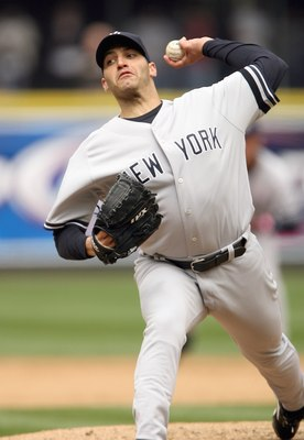SEATTLE - MAY 13:  Andy Pettitte #46 of the New York Yankees delivers the pitch during the game against the Seattle Mariners on May 13, 2007 at Safeco Field in Seattle, Washington. (Photo by Otto Greule Jr/Getty Images)