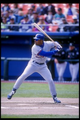 15 Apr 1993: Infielder Bobby Bonilla of the New York Mets in action during a game against the Colorado Rockies at Shea Stadium in Flushing, New York.