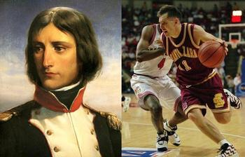 Napoleon rises through the ranks. Nash leads Santa Clara.