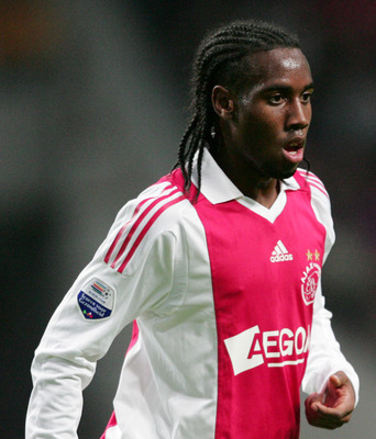 AMSTERDAM, NETHERLANDS - OCTOBER 17:  Vurnon Anita of AFC Ajax during the Eredivisie match between AFC Ajax and Willem II held on October 17, 2009 at the Amsterdam ArenA, in Amsterdam, Netherlands. (Photo by Anoek De Groot/EuroFootball/Getty Images)