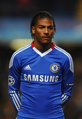 LONDON, ENGLAND - NOVEMBER 23: Patrick van Aanholt of Chelsea looks on during the UEFA Champions League Group F match between Chelsea and MSK Zilina at Stamford Bridge on November 23, 2010 in London, England.  (Photo by Mike Hewitt/Getty Images)