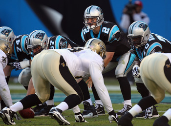 Jimmy Clausen under center for Carolina