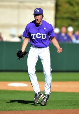 Super-Sophomore Matt Purke leads a three-headed TCU rotation that is the best in college baseball.