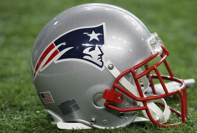 Patriots Football Helmet History