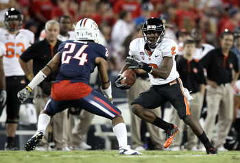 Markus Wheaton continues to progress for Oregon State amidst the absence of James Rodgers.