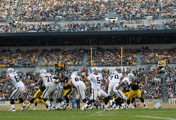 This Photo is not Indicative of the Raiders O-Line Performance Against the Steelers