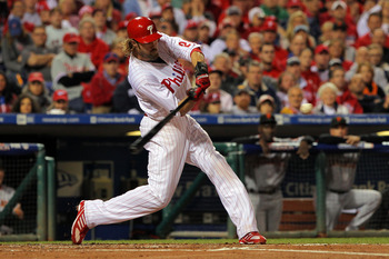 Jayson Werth is a powerful outfielder who is suited to bat clean-up anywhere