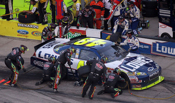 The now infamous decision to change pit crews is still a topic of discussion