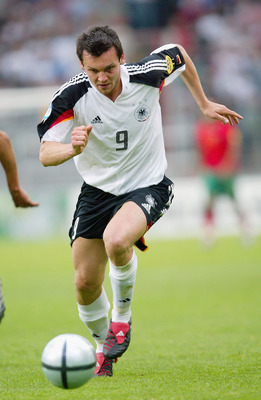 Benjamin Auer in action for Germany