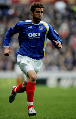 Azar Karadas in action for Portsmouth