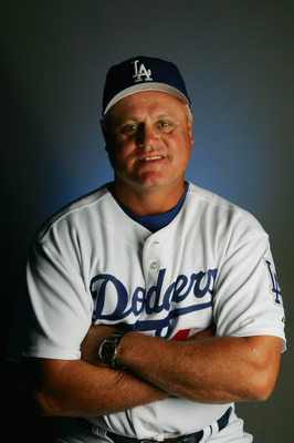 VERO BEACH, FL - FEBRUARY 27:  Bullpen Coach Jon Debus of the Los Angeles Dodgers poses for a portrait during photo day on February 27, 2005 at Holman Stadium in Vero Beach, Florida.  (Photo by Elsa/Getty Images)