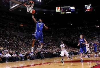 Nolan Smith throwing one down against Oregon