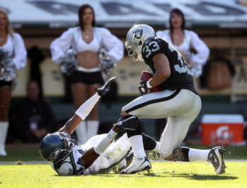 The Raiders just can't seem to get any interceptions