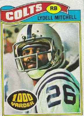 Lydell Mitchell would provide most of the offense on this day