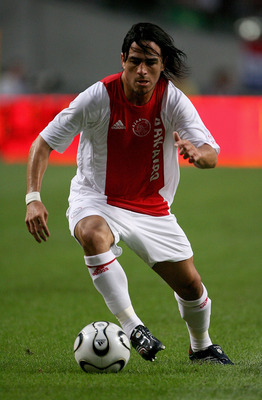 Mauro Rosales in action for former club Ajax