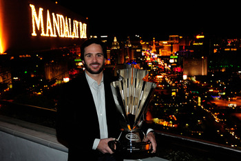 Jimmie Johnson will lead the NASCAR Chasers down the Las Vegas Strip in their cars.