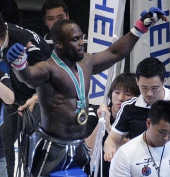 Melvin &quot;No Mercy&quot; Manhoef