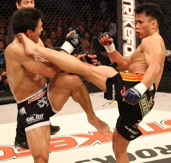 Cung Le's vicious assault on Frank Shamrock