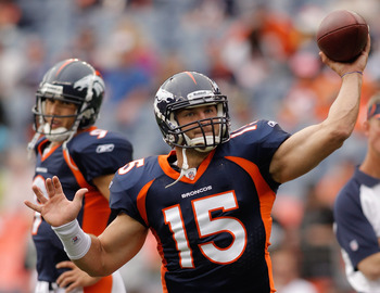 Is it time to start prepping Tebow for the future?