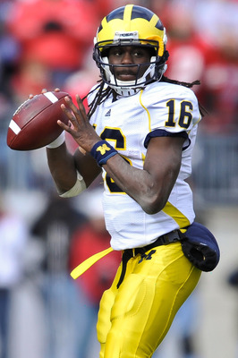 Denard Robinson of Michigan