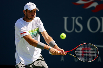 Fried, broiled, steamed, or what ever you want, Mardy Fish was cooked by the US Open.