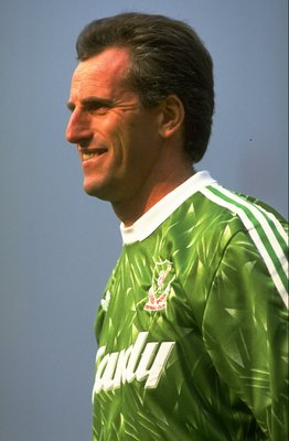 1990:  Portrait of Liverpool Goalkeeper Ray Clemence. \ Mandatory Credit: Gary M Prior/Allsport