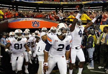 Auburn won the SEC Championship destroying South Carolina