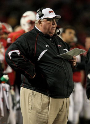 Maryland head coach Ralph Friedgen