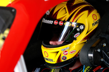 HOMESTEAD, FL - NOVEMBER 20:  Kevin Harvick, driver of the #29 Shell/Pennzoil Chevrolet, sits in his car during practice for the NASCAR Sprint Cup Series Ford 400 at Homestead-Miami Speedway on November 20, 2010 in Homestead, Florida.  (Photo by Sam Green