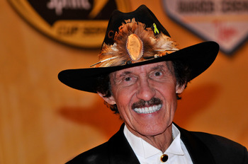 LAS VEGAS, NV - DECEMBER 03:  Team owner Richard Petty attends the NASCAR Sprint Cup Series awards banquet at the Wynn Las Vegas Hotel on December 3, 2010 in Las Vegas, Nevada.  (Photo by David Becker/Getty Images for NASCAR)