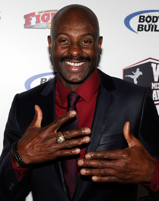 LAS VEGAS, NV - DECEMBER 01:  Retired Hall of Fame National Football League player Jerry Rice arrives at the third annual Fighters Only World Mixed Martial Arts Awards 2010 at the Palms Casino Resort December 1, 2010 in Las Vegas, Nevada.  (Photo by Ethan