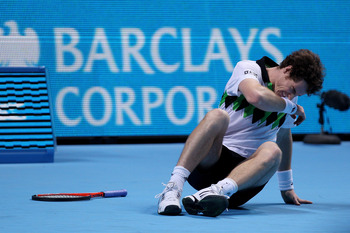 Anguish? Andy Murray had an up-and-down 2010.