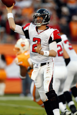 TAMPA, FL - DECEMBER 05:  Quarterback Matt Ryan #2 of the Atlanta Falcons throws a pass against the Tampa Bay Buccaneers during the game at Raymond James Stadium on December 5, 2010 in Tampa, Florida.  (Photo by J. Meric/Getty Images)