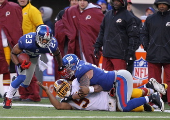 The Giants #2 ranked defense forced six turnovers on Sunday
