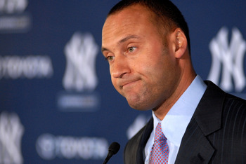 Is he washed up?  Will there be bitter feelings between the Yankee fans and Jeter in 2011?  Probably not, but the tough negotiations between the two camps couldn't help.