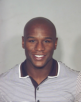 LAS VEGAS - SEPTEMBER 10:  In this photo provided by the Las Vegas Metropolitain Police Department September 10, 2010, Boxer Floyd Mayweather Jr. is pictured in a police booking photo in Las Vegas, Nevada. According to reports on September 10, 2010, Maywe
