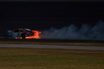 2010 ended in flames for Kyle Busch but in 2011 he will be on fire.
