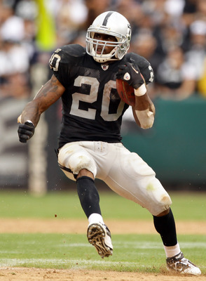 Raiders running back Darren McFadden