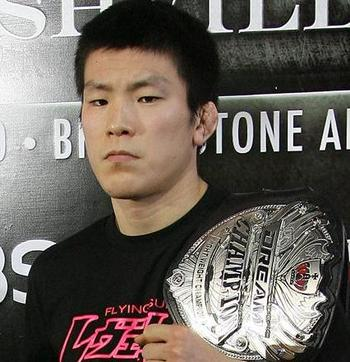 Dream Lightweight Champion, Shinya Aoki