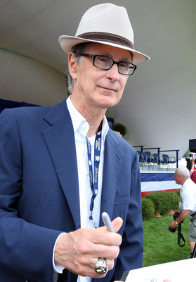 COOPERSTOWN, NY - JULY 26:  Principal owner John Henry of the Boston Red Sox attends the Baseball Hall of Fame induction ceremony at Clark Sports Center on July 26, 2009 in Cooperstown, New York. (Photo by Jim McIsaac/Getty Images)