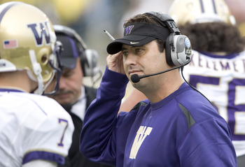 After just two years at the University of Washington, is Steve Sarkisian on the hot seat?