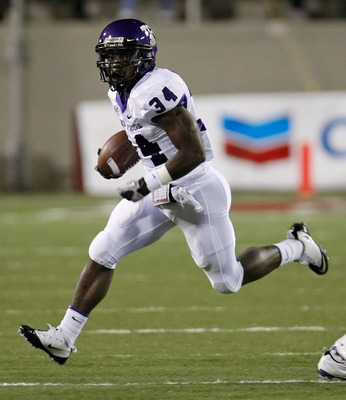 TCU Running Game led by Ed Wesley