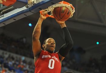 Freshman F Jared Sullinger has led the way for the Ohio State Buckeyes averaging close to a double-double through their perfect 8-0 start to the 2010-2011 season.