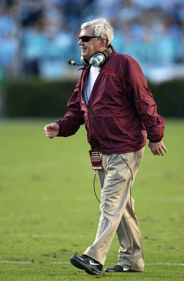 Frank Beamer Leads the Hokies to Miami