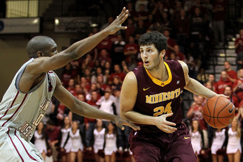 Senior G Blake Hoffarber has helped lead the Golden Gophers to an outstanding 9-1 start including key back-to-back wins at North Carolina and West Virginia.