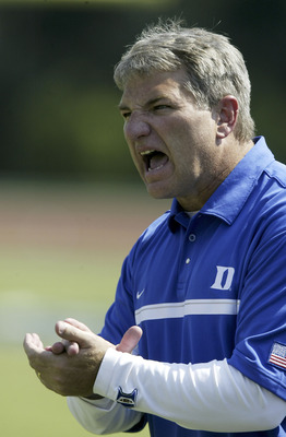 Excuse Ted Roof is he's upset; he only won six games at Duke.