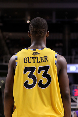 SAN JOSE, CA - MARCH 18:   Forward Jimmy Butler #33 of the Marquette Golden Eagles stands on the court during their game against the Washington Huskies in the first round of the 2010 NCAA men's basketball tournament at HP Pavilion on March 18, 2010 in San